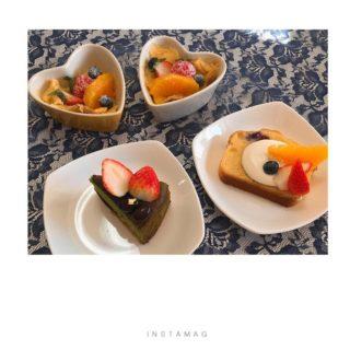 ブルーベリーパウンドケーキ&パンプディング&抹茶ケーキ